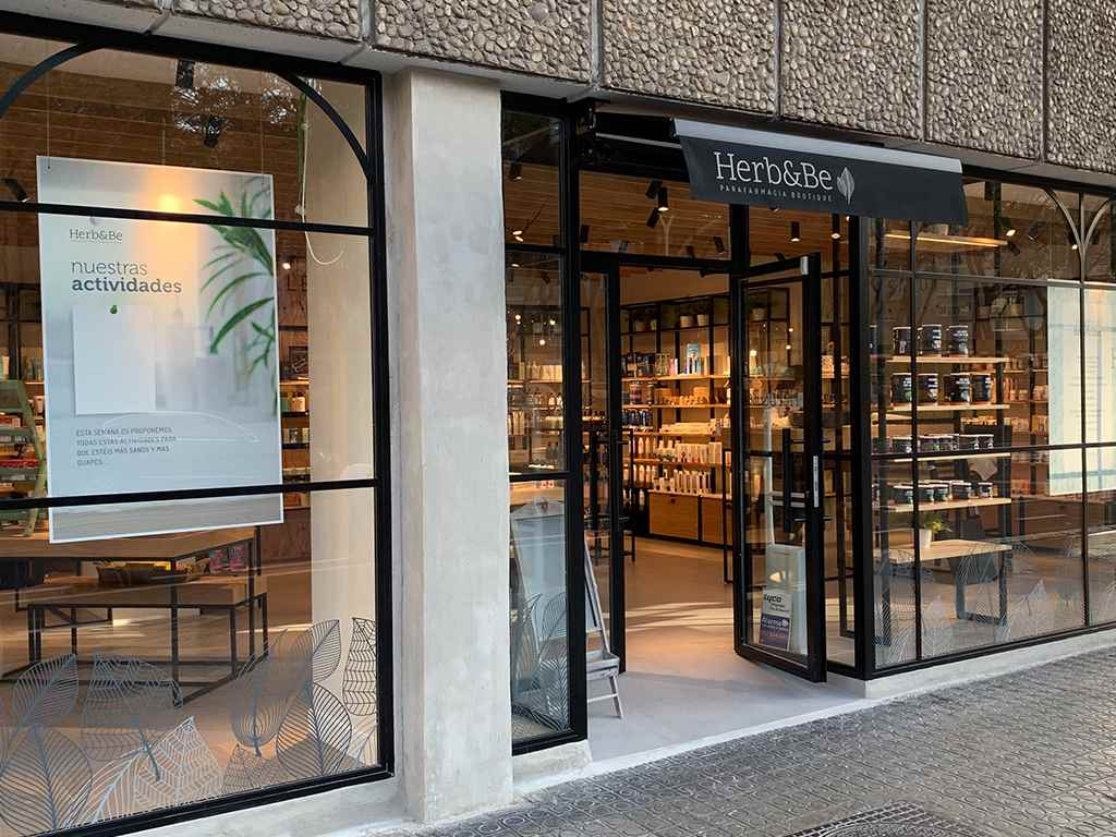 Herb&Be proyecto integral de diseño y construcción de tienda - Portada
