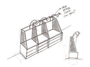 La importancia del croquis en el proceso de diseño de retail - Expositores