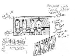 La importancia del croquis en el proceso de diseño de retail - Lavacabezas