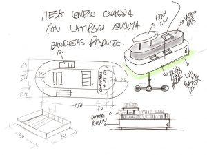 La importancia del croquis en el proceso de diseño de retail - Mesa