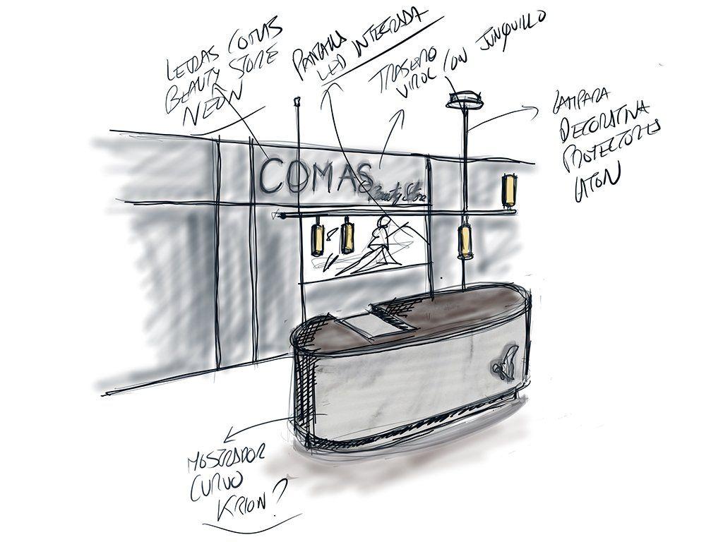 La importancia del croquis en el proceso de diseño de retail - Portada