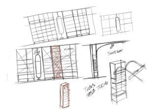 La importancia del croquis en el proceso de diseño de retail - Sección