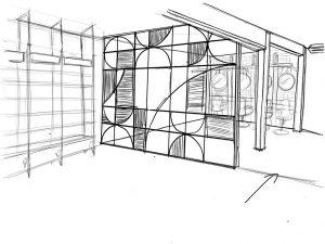 La importancia del croquis en el proceso de diseño de retail - Separador