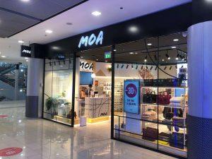 Nuevo concepto de Moa para sus tiendas en Europa - Total Look